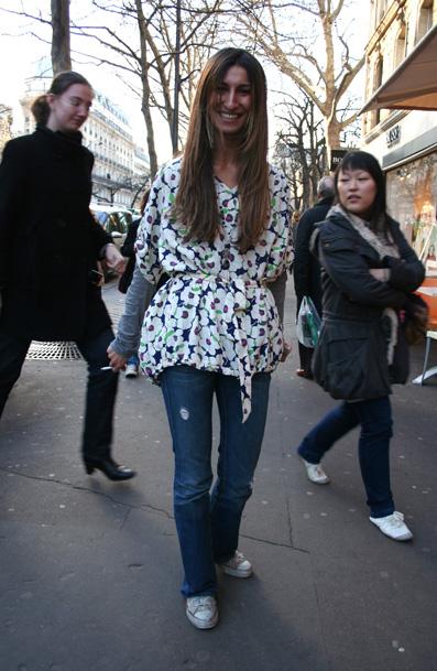 blouse sandro saint germain des prés